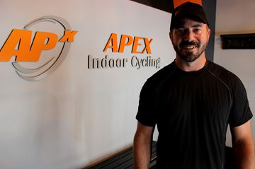 Apex Indoor Cycling owner Jeff Farmer