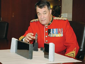 Soil from Vimy Ridge to be featured in Borden memorial