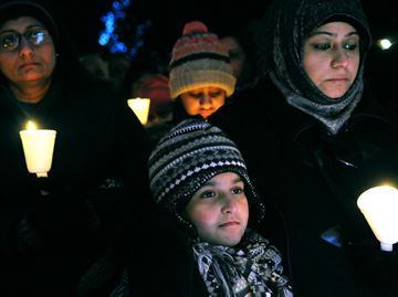 Pakistani School Massacre Vigil