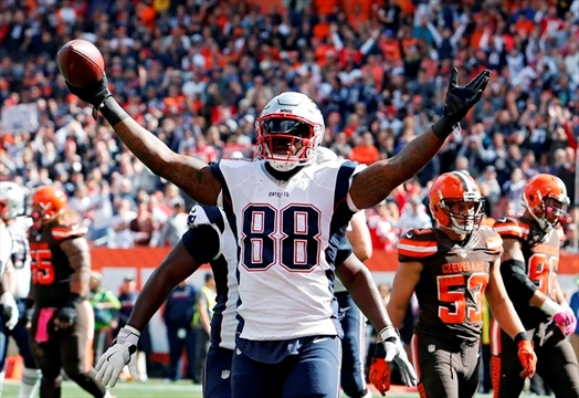Image result for martellus bennett patriots browns