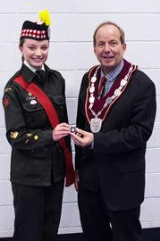 Duke of Edinburgh award winner
