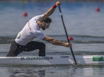 Oldershaw proudly carries on canoeing tradition