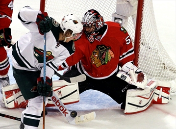 Blackhawks beat Wild 4-3 in Game 1 of Western semifinals-Image1