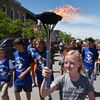 DRPS Flame of Hope for Special Olympics