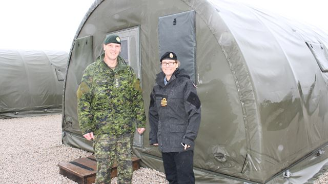 Meaford base prepares to host Syrian refugees