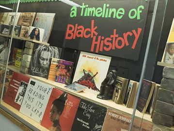 Meaford students celebrating Black History Month