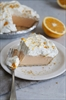 ORANGE-VANILLA ICE CREAM PIE