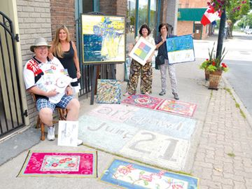 Art crawl invades downtown