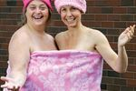 Naked swim for a cause