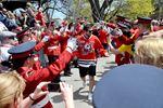 Pep rally for the Niagara IceDogs