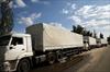 Truck convoy