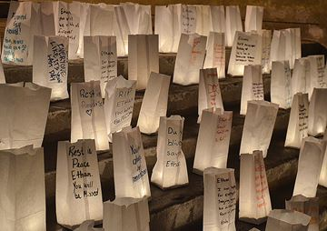 Heartfelt messages honour classmate's memory
