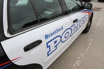 Brantford police cruiser
