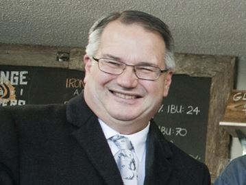 Milton councillor Colin Best