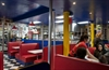 Wimpy's Diners - the Main West location is pictured - are big on 1950s diner atmosphere.
