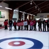 Special Olympians piped onto curling rink