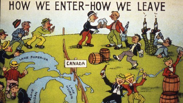 Prohibition postcard