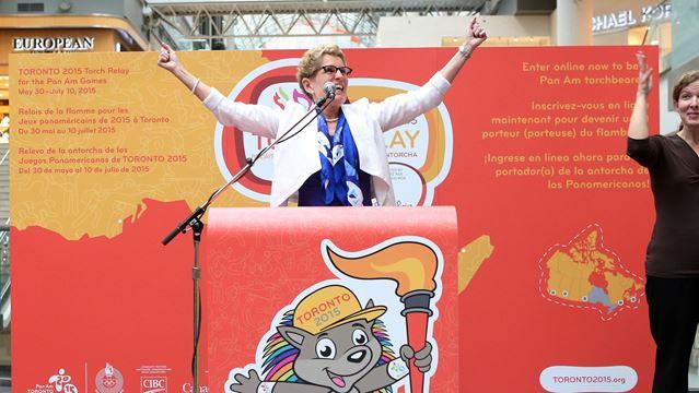 Toronto 2015 Pan Am Games Torch Relay announcement