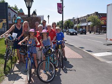 Pedestrians and cyclists unite