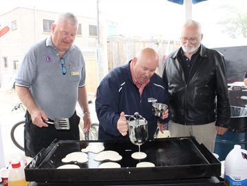 Wasaga Beach Lions holding Canada Day pancake breakfast