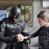 Batman helps Barrie boy celebrate final cancer treatment