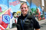 Mural generating community engagement