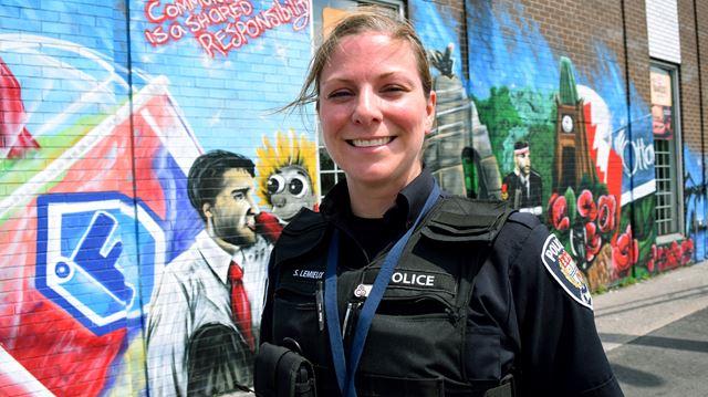 Mural generating community engagement