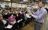 PHOTOS: Auction fundraiser for Dundas art school