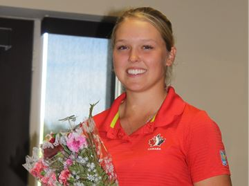 Brooke Henderson earns Syl Apps honours