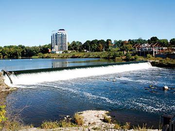 Park Hill dam