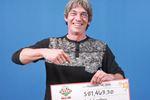 Kevin Reid lottery winner