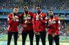 Canadian relay team