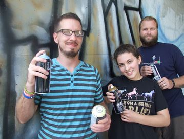 Youth transforming Orillia under pass one spray bomb at a time