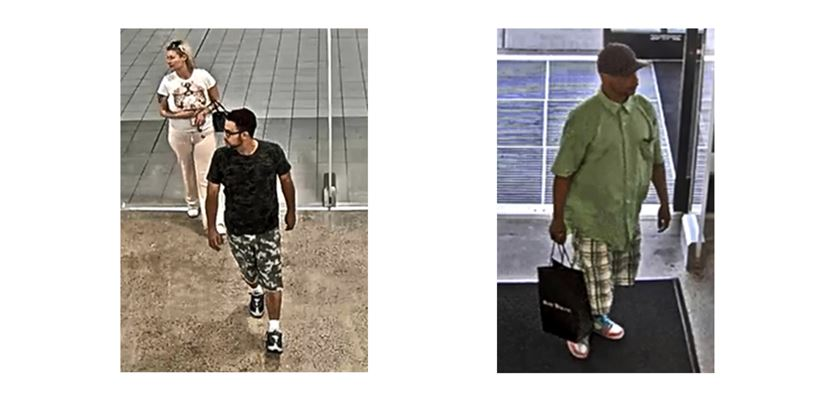 Police seek suspects following shoplifting incident at Sak's Off