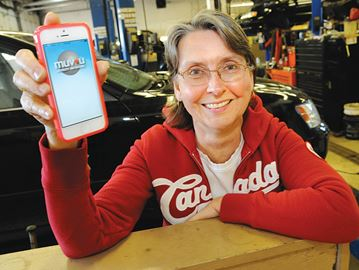 New app rewards customers, biz and charity in Barrie