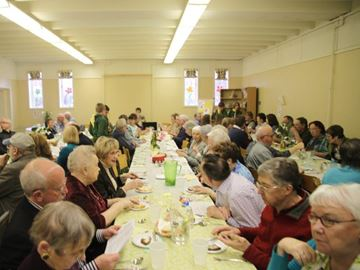 Church dinner and auction night more than a good meal for a good cause