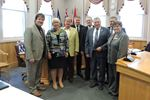 Mayors meet with Matthews
