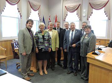 Mayors meet with Matthews