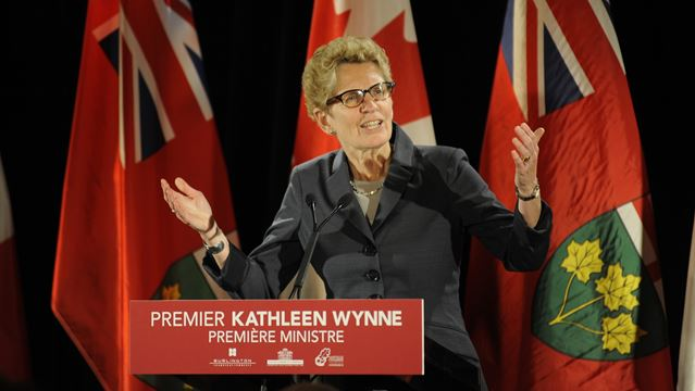 Ontario premier says she won't get involved in high school teachers contract talks