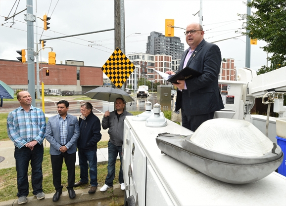 Shining A Smarter Light On Kitchener Streets