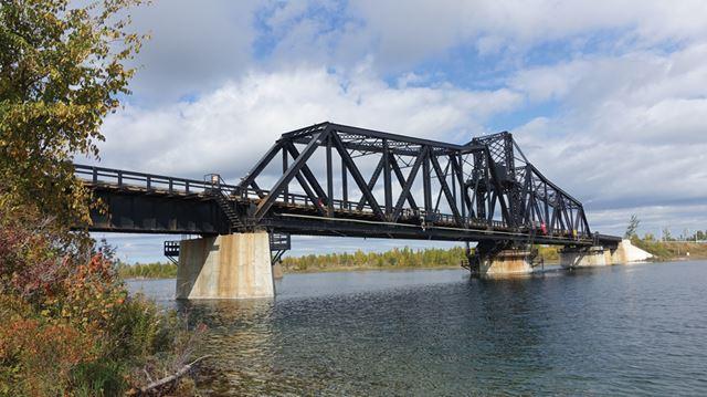 Opinion   De Boer's treasures: Little Current Swing Bridge ...