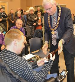 Midland man honoured for improving accessibility