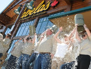 Barrie businesses take up ALS Ice Bucket challenge