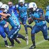 Westmount running back Maxwell Gyimah