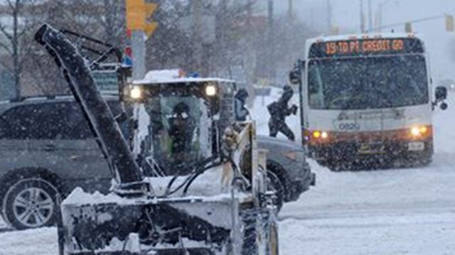 Winter Storm Southern Ontario: Winter Storm Warning In Effect For Southern Ontario
