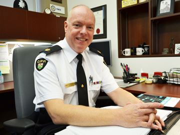 Nottawasaga OPP's new commander believes in collaborative approach
