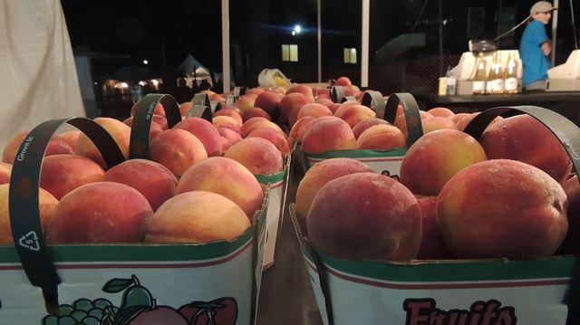 Peach Festival peaches