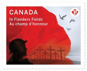 In Flanders Fields Stamp