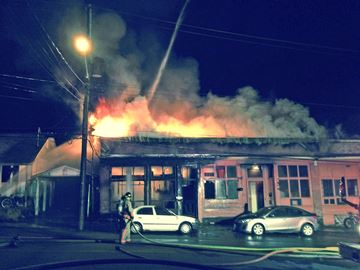 Fire destroys Parry Sound home
