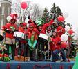 Westport welcomes Santa